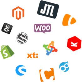 Kompatibilität verschiedener Content Management Systeme und Shopsysteme