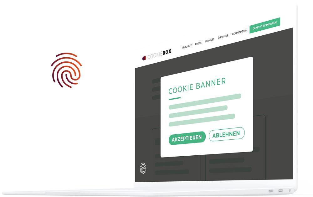 Das Cookiebox CMP Cookiebanner und Consent Management