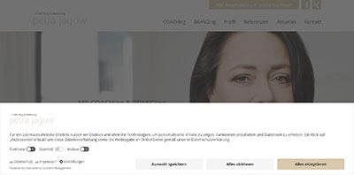Website Petra Jagow