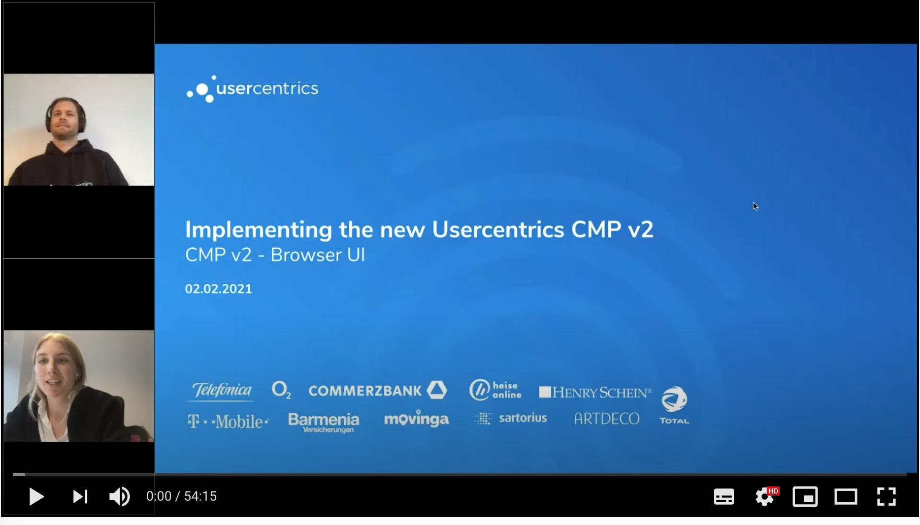 Tutorial Usercentrics V2